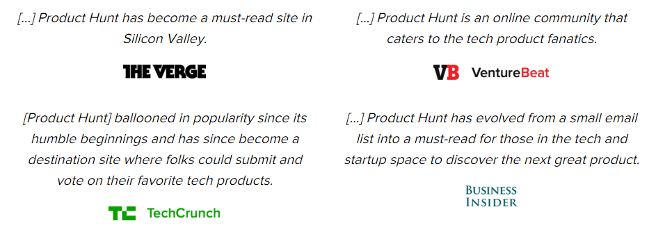Product Hunt  About