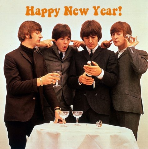Happy new year beatles
