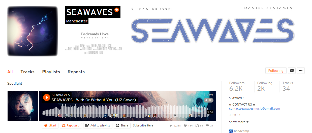 SEAWAVES SoundCloud