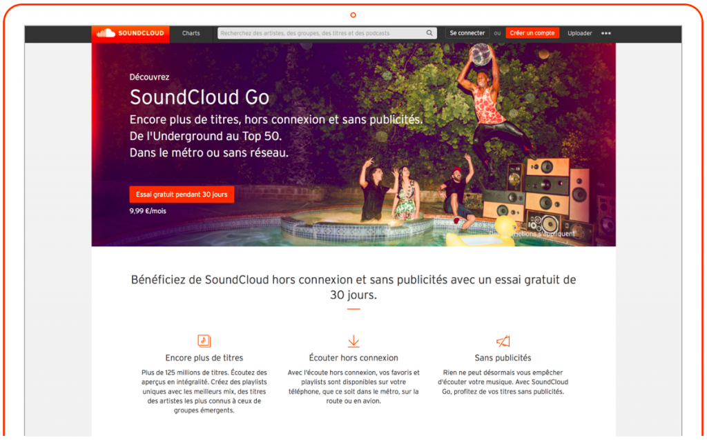 Capture SoundCloud Go